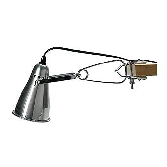 dbd38f065d74 IKEA Klemmspot FAS, Aluminium  Amazon.de  Beleuchtung