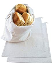 COTTON GROCERY BAG 6 X 8-3 PACK