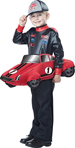 California Costumes Speedway Champion Costume, Black/Red, Toddler (3-6) - Speed Racer Costume Toddler