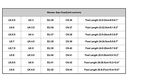 Open de Senderismo Cómodos 2018 Espadrilles Fiesta Mujer Heels para Mocasina Zapato Sandalias Zapatillas Vestir Sandalias Verano PAOLIAN Romano Negro Oxford de Cuero Toe Moda Kitten de D'Orsay zUxHI4f