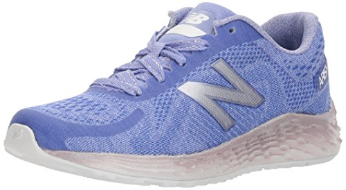 Image of New Balance Girls' Arishi v1 Running Shoe, Purple/Metallic, 1 M US Little Kid