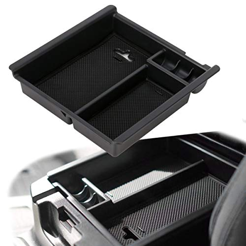 EDBETOS Tacoma Car Center Console Armrest Box Glove Box Secondary Storage Console Organizer Insert Tray for Toyota Tocoma 2016 2017 2018 2019