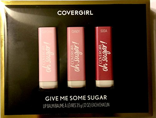 Covergirl Give Me Some Sugar Vitamin Infused Lip Balm Gift Set