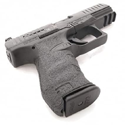 Talon Grip for Walther Arms PPQ for M1 and M2 (9mm/ 40)Black Rubber - 602R  W/ Free Sticker - Johnson Enterprises, LLC