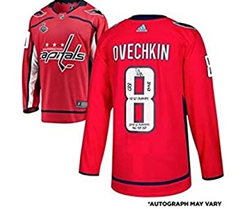 free shipping 3cf6b c6c6e Alex Ovechkin Washington Capitals Autographed 2018 Stanley ...