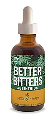 Herb Pharm Better Bitters Certified Organic Digestive Supplements