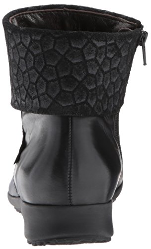 Mephisto Women's Fiducia Ankle Bootie, Black Silk/Cubic, 11 M US by Mephisto (Image #2)