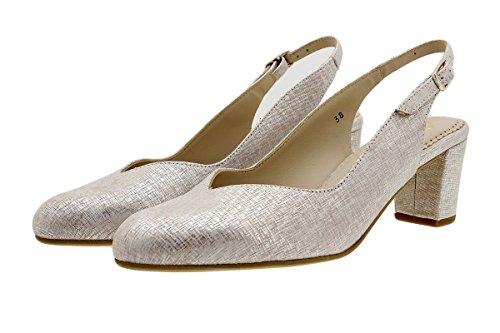 Piesanto Donna Décolleté 180229 Grecia Nude Comfort Scarpe rUranx8B