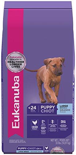 Eukanuba Puppy Large Breed Dry Dog Food, 33 lb. bag