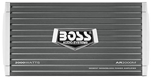 4. BOSS Audio ARM2000 Armor Monoblock Car Amplifier with Remote Subwoofer Level Control – Our Budget Pick for the Best Car Amp