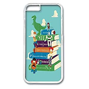Custom Case with Toy Stories Personalized Back Snap On Case for iPhone 6 4.7 PC Transparent