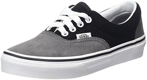 VansEra - Zapatillas Unisex Niños Gris (Suede pewter/black)