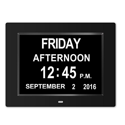 Memory Loss Digital Calendar Day Clock with Extra Large Non-Abbreviated Day & Month Perfect for Seniors (What Is A Calendar Day)