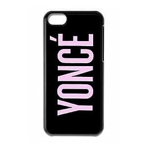 iPhone 5c Cell Phone Case Black Beyonce BNI Unique Hard Cell Phone Case