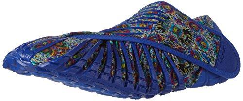 (Vibram FiveFingers Unisex Furoshiki Blue Flower Sneaker XS: 36-37 (US Women's 6-6.5))
