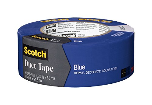 3メートル1.88インチX 60ヤードBlackScotchダクトテープ1060-BLK-A