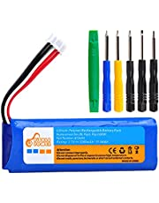 3200mAh Battery GSP872693 for JBL Flip 3 Flip 3 Gray GSP872693 P763098 03 with Install Tools (3.7V, 11.84Wh)