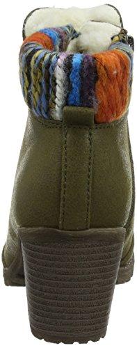 Rieker Women's 95323 Boots Green (Green) 4GXmgISB