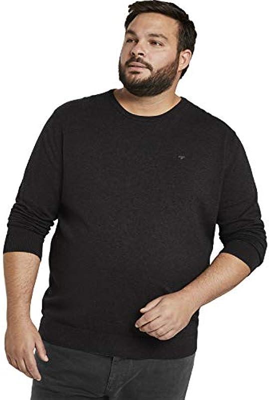 TOM TAILOR Basic Crew-Neck t-shirt męski: Odzież