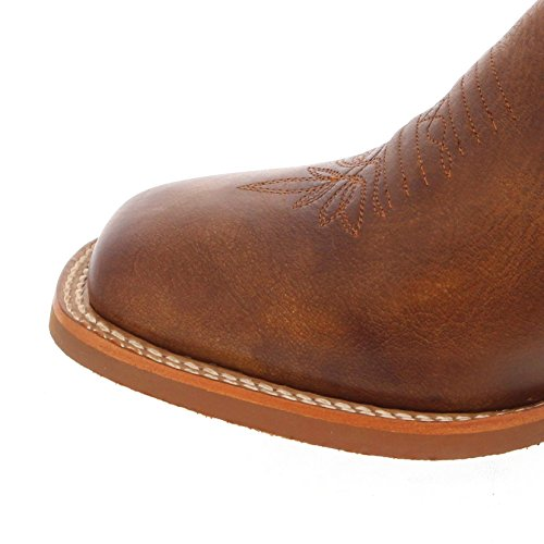 Tony Lama Buckarro Boots 3r2400l Marrone Turchese Western Stivali Da Equitazione In Cristallo Marrone Chiaro