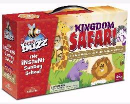 Group Publishing Buzz Fall 2019: Pre-K & Kindergarten Kingdom Safari Kit