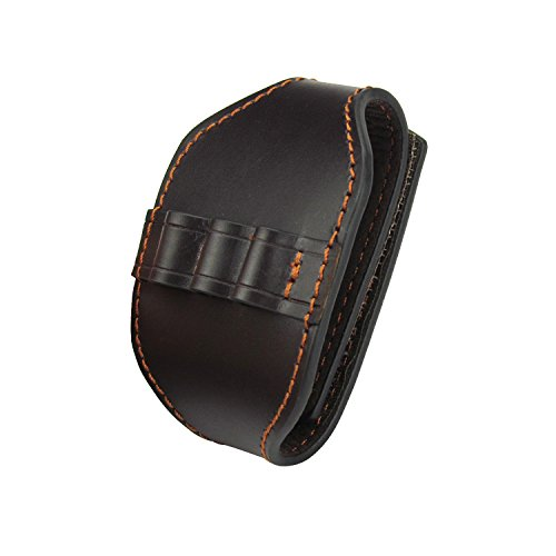 TOURBON Wrist Band Ammo Carrier 3 Shell Loops Leather Cartridge Holder