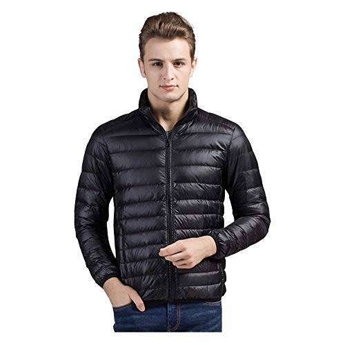 Warm Comfortable Jacket HX Sizes Down Packable Insulated fashion Soft Men's Buffer Mantel Outerwear Ultralight Coat Schwarz Clothing WqznpqPX8