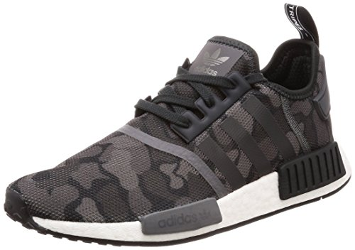 Bianco Core NMD Five Four r1 Schwarz Herren Black Eu adidas F17 Grey Derbys Grey n50qxCOwI