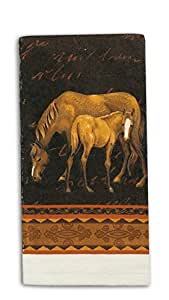 Kay Dee Designs R2000 Mare & Foal Horses Terry Towel
