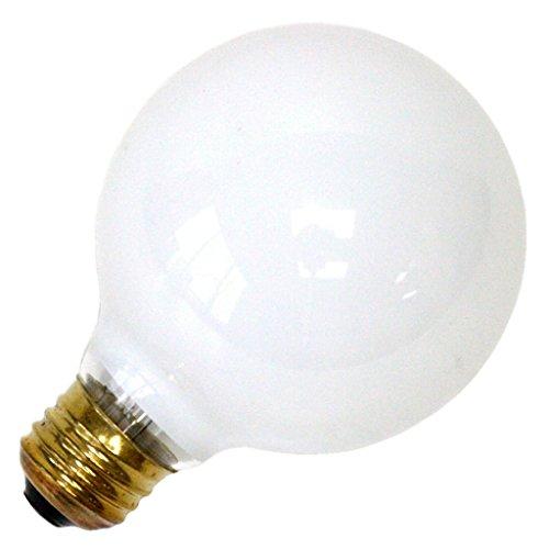 Westinghouse Lighting 0312300, 60 Watt, 120 Volt White Incand G25 Light Bulb, 1500 Hour 570 Lumen