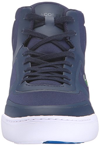 Lacoste Mens Explorateur Mid Spt 316 1 Spm Fashion Sneaker Blu Scuro
