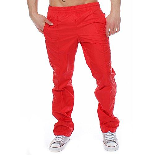Pantaloni Uomo Pantaloni Adidas Pantaloni Uomo Rosso Rosso Adidas Adidas q7Ynf