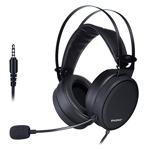 Computer Headphone, ELEGIANT Stereo Surround Gaming Headset with Noise-Cancelling Mic Flexible Over-Ear Headset, 3.5mm Volume Control Headset for Nintendo switch PS4/PS4 Pro Xbox PC Laptop Mac Tablet