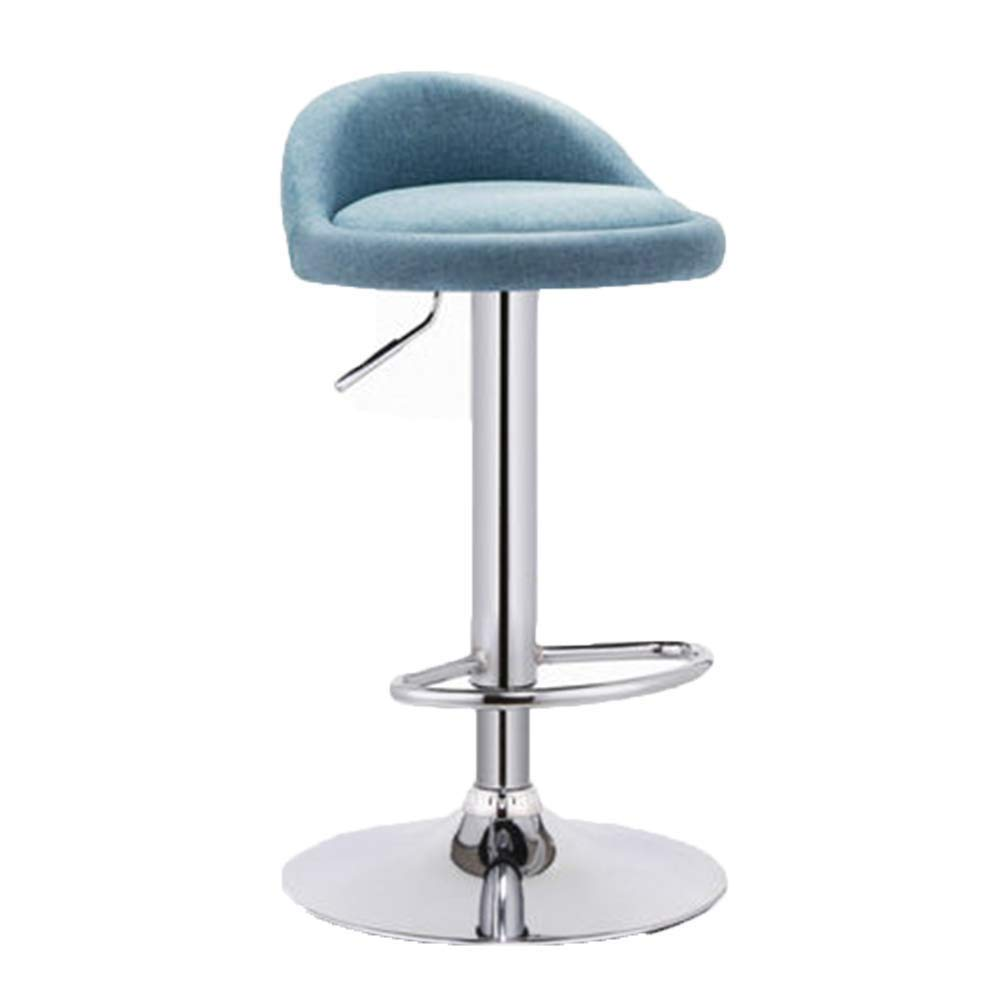 C Bar Stool redating Lift Breakfast Stool for Family Front Desk Coffee Shop Kitchen Multi-color Optional (color   F)