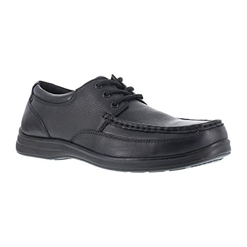 Florsheim Work Men's FS201 Wily Steel Toe ESD Oxford,Black,US 15 D