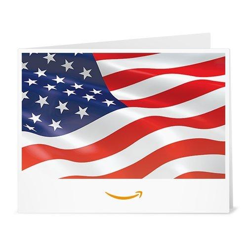 Amazon Gift Card - Print - American Flag