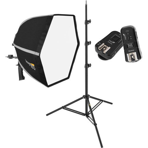 Impact Hexi 24 Softbox Speedlight Solution Kit for Canon Cameras by Impact