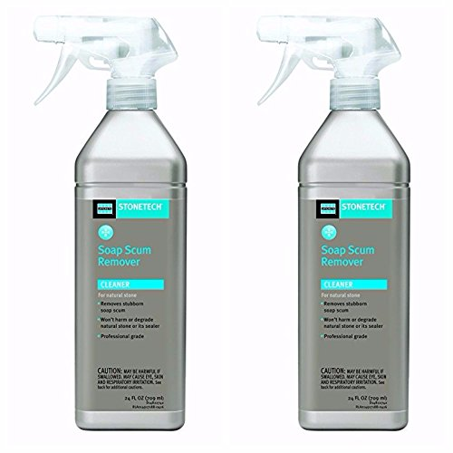 Amazon.com: StoneTech Soap Scum Remover, Cleaner For Natural Stone,  24 Ounce (.710L) Spray Bottle: Home Improvement