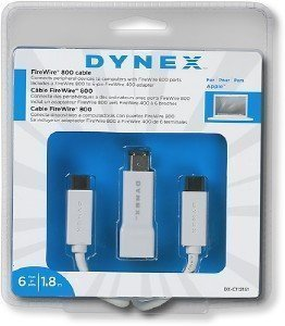 DYNEX FIREWIRE DRIVER FOR PC