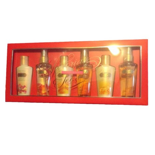 Vanilla Lace Victorias Secret Type (Victoria's Secret Lace Set, Coconut Passion/Amber Romance/Vanilla, 6)