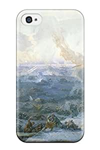 CagleRaymondy Iphone 4/4s Well-designed Hard Case Cover Artistic Protector