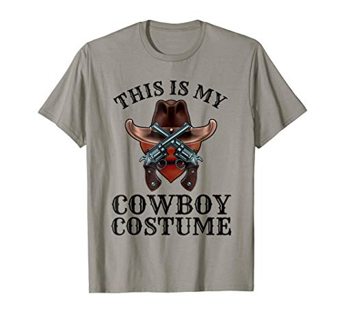 This is my cowboy costume shirt Country Western tshirt -