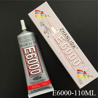 8cfbf8699998dd Amazon.com   Mustwell 110ml Liquid E6000 Glue Super Glue Strong ...