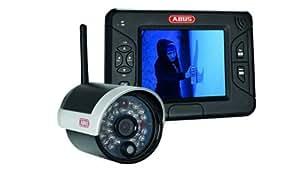 "ABUS TVAC15000 - Kit de videovigilancia (Bullet, Inalámbrico, Wi-Fi, SDHC, 88.9 mm (3.5 ""), 5 V)"