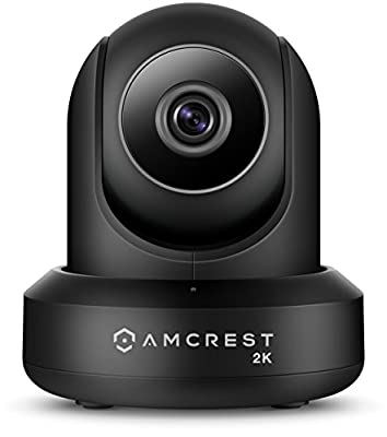 Amcrest UltraHD 2K (3MP/2304TVL) WiFi Video Security IP Camera with Pan/Tilt, Dual Band 5ghz/2.4ghz, Two-Way Audio, 3-Megapixel @ 20FPS, Wide 90° Viewing Angle and Night Vision IP3M-941