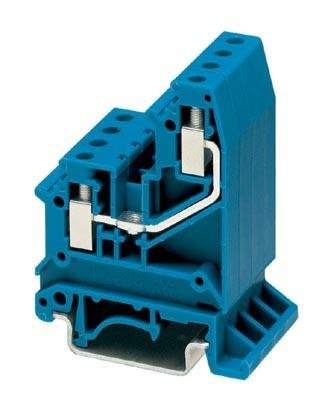 DIN Rail Terminal Blocks UK 5-RETURN BU 6 2mm RETURN BLUE (5