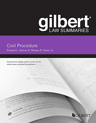 Gilbert Law Summary on Civil Procedure (Gilbert Law Summaries)