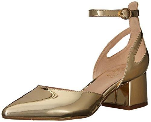 Gold Sarto Womens Caleigh Pump Gold