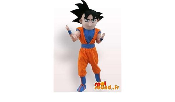 Disfraz Dragon Ball Son Goku: Amazon.es: Juguetes y juegos