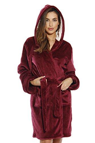 (Just Love Kimono Robe / Bath Robes for Women,Burgundy,X-Large)